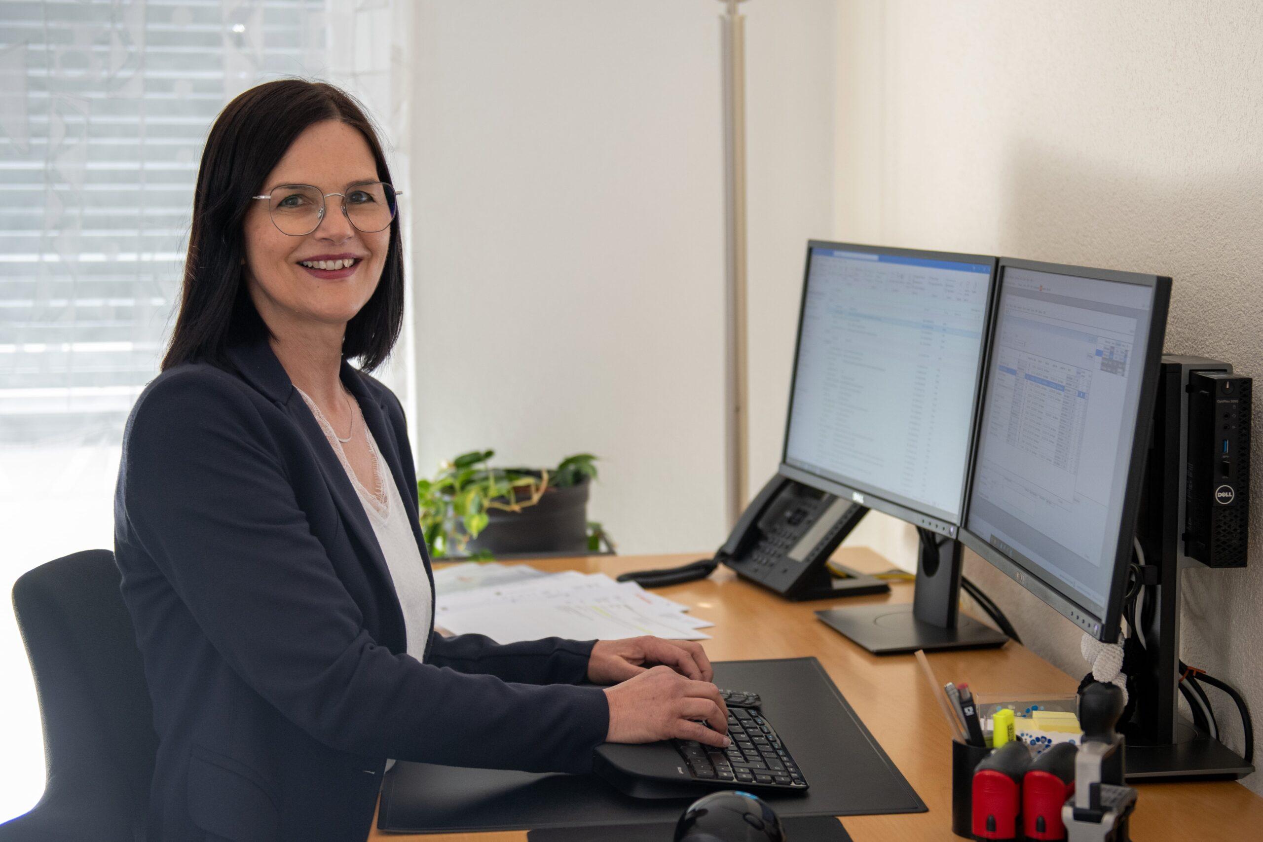 Karin Maspero : Sachbearbeiterin Innendienst